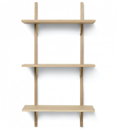 Sector Shelf Triple Narrow Regal von