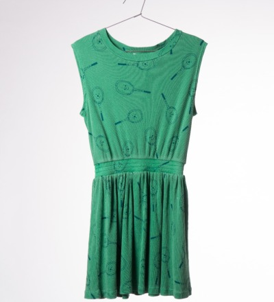 BC Tennis Dress deep green - bobo choses