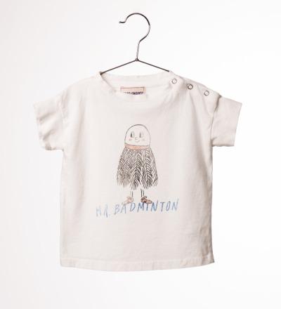 BC Baby T- Shirt Mr. Badminton - bobo choses