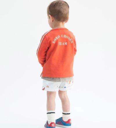 BC Baby Zip Sweatshirt B.C. TEAM - bobo choses