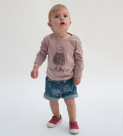 BC Baby denim Short 1968 AO - bobo choses
