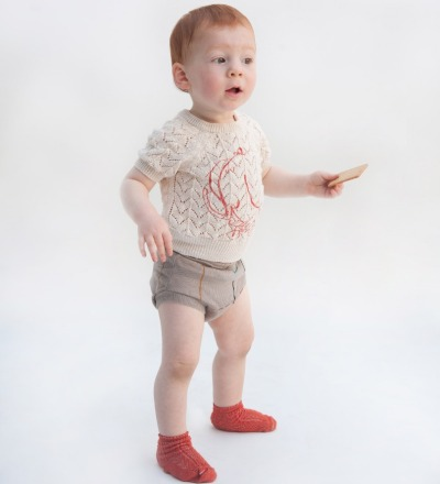 BC Baby Knit Jumper The Cyclist - bobo choses