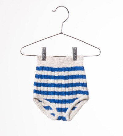 BC Baby Knitted Culotte Blue - bobo choses