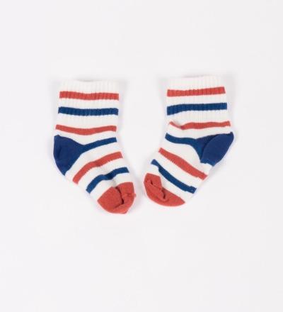BC Tennis Baby Socks Stripes - bobo choses
