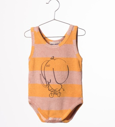 BC Striped Terry Body The Cyclist - bobo choses