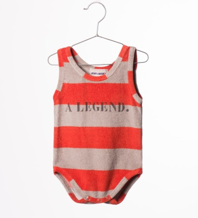 BC Striped Terry Body A Legend - bobo choses
