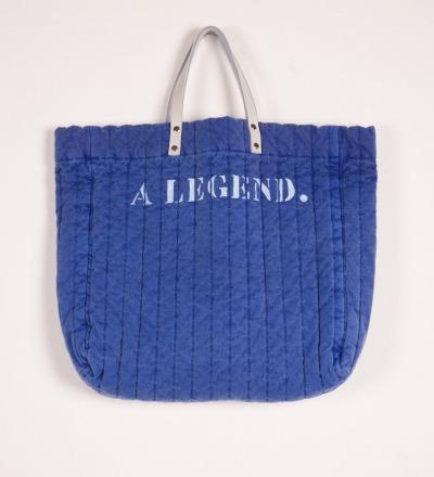 BC Padded Tote Bag A Legend - bobochoses