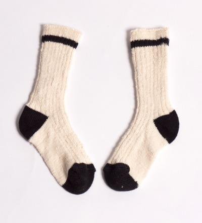 BC Short Socks Rib Flamme - bobo choses