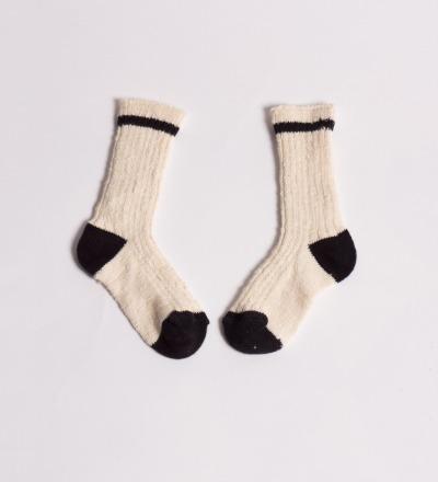 BC Baby Short Socks Rib Flamme - bobo choses