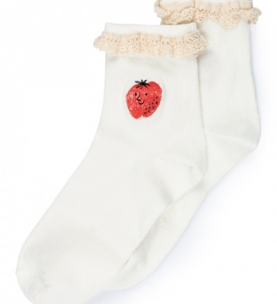 STRAWBERRY SHORT SOCKS von Bobo Choses