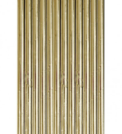 PARTY STRAWS PAPIER STROHHALME GOLD von