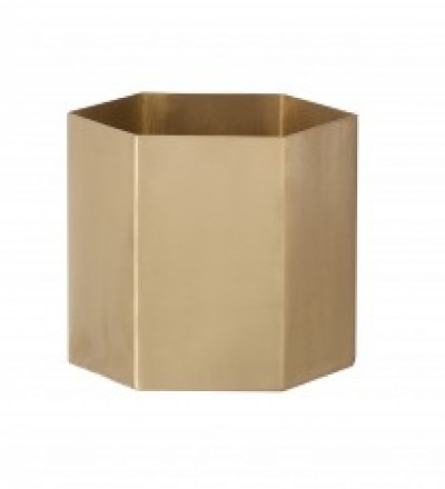 ferm LIVING HEXAGON POT Large ferm