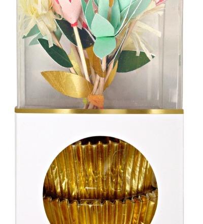 FLOWERS CUPCAKE KIT von Meri Meri - Meri Meri