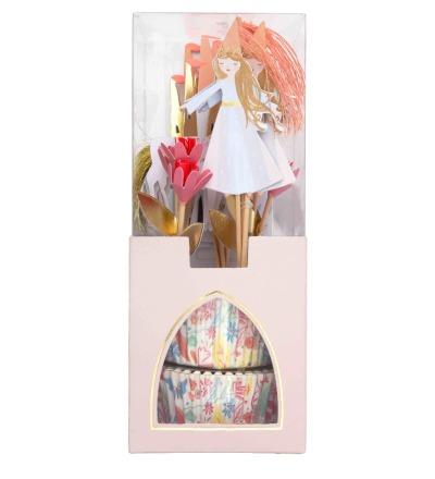 MUFFINSET MAGISCHE PRINZESSIN - CUPCAKE KIT MAGICAL PRINCESS von Meri Meri - Meri Meri