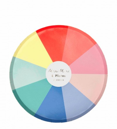 COLOR WHEEL PAPPTELLER KLEIN - meri meri