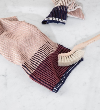 AKIN DISH CLOTHS SET OF 2 - ROSE von ferm LIVING - ferm LIVING