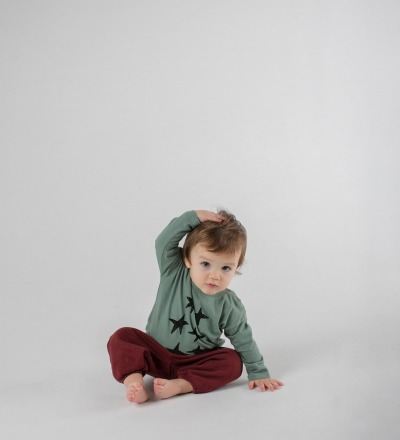 STARS LONG SLEEVE T-SHIRT Baby von Bobo Choses - Bobo Choses