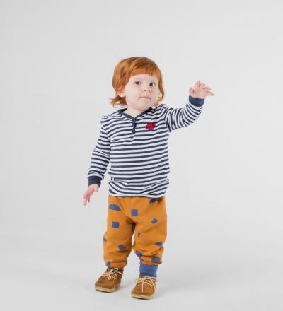 SATURN BUTTONS T-SHIRT Baby von Bobo
