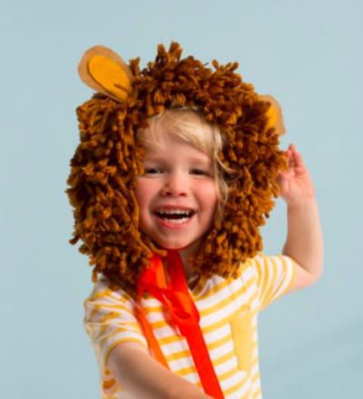 LOeWENMAeHNEKOSTUeM - LION HEAD DRESS - meri meri