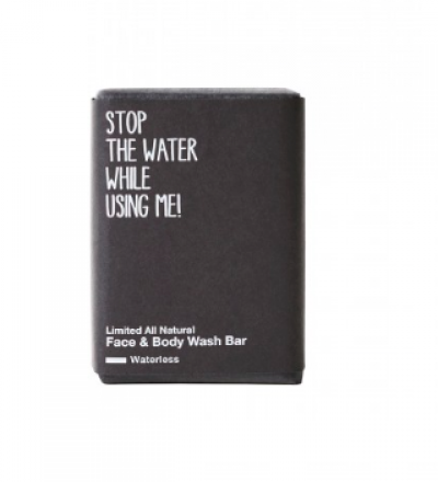 LIMITED ALL NATURAL FACE & BODY WASH BAR von STOP THE WATER WHILE USING ME - STOP THE WATER WHILE USING ME