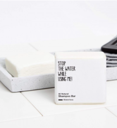 ALL NATURAL SHAMPOO BAR von STOP THE WATER WHILE USING ME - STOP THE WATER WHILE USING ME