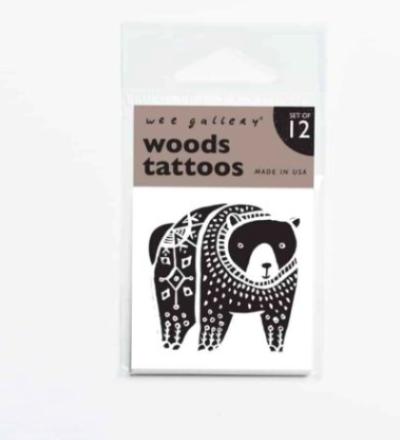 TATTOOS WOODS von Wee Gallery - Wee Gallery