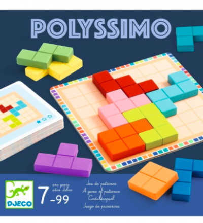 Knobel-Spiel Polyssimo von Djeco - Djeco