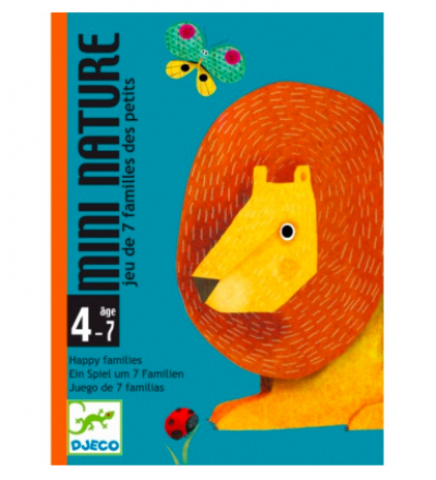 Kartenspiel Mini Nature von Djeco Djeco
