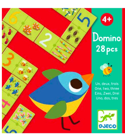 Domino Lernspiel von Djeco - Djeco