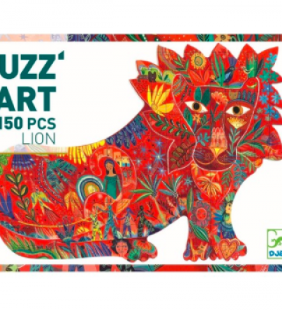 Puzz art Puzzle Lion Teile von Djeco