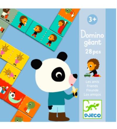 Riesen-Domino Spiel Freunde von Djeco Djeco
