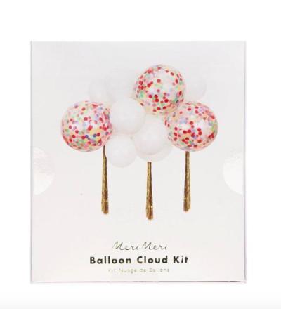 Rainbow Balloon Cloud Kit von Meri