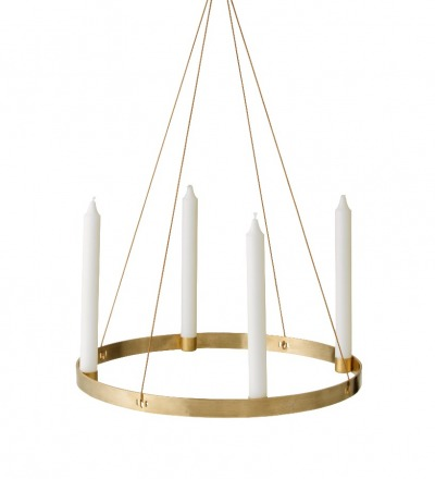 Adventskanz Candle Holder Circle Large von