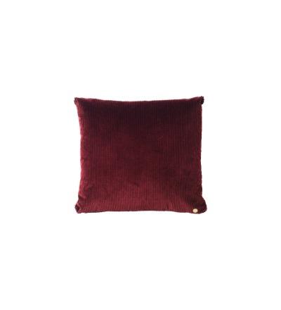 Kissen Corduroy Cushion Burgundy von ferm