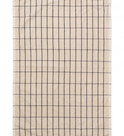 Geschirrtuch Hale Yarn-Dyed Tea Towels Sand/Black