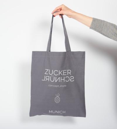 Cotton Bag ZUCKERSCHNÜRL - GEMEINSAM KINDERN EINE CHANCE GEBEN - zuckerschnürl