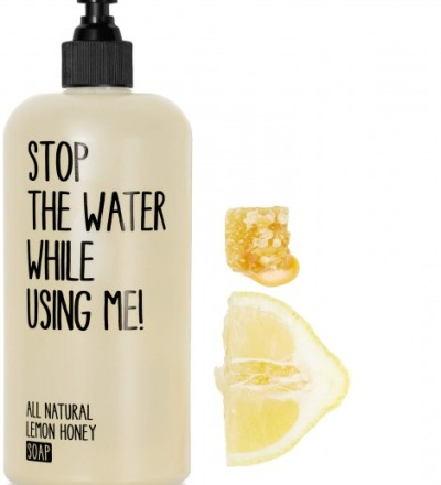 Lemon Honey Soap 200ml - stop the water while using me