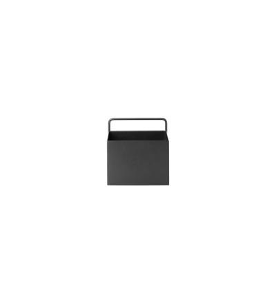 Wandbehälter Wall Box Square Black von