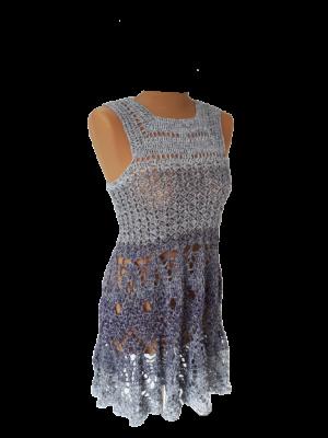 Häkel-Mini-Kleid Summerdream