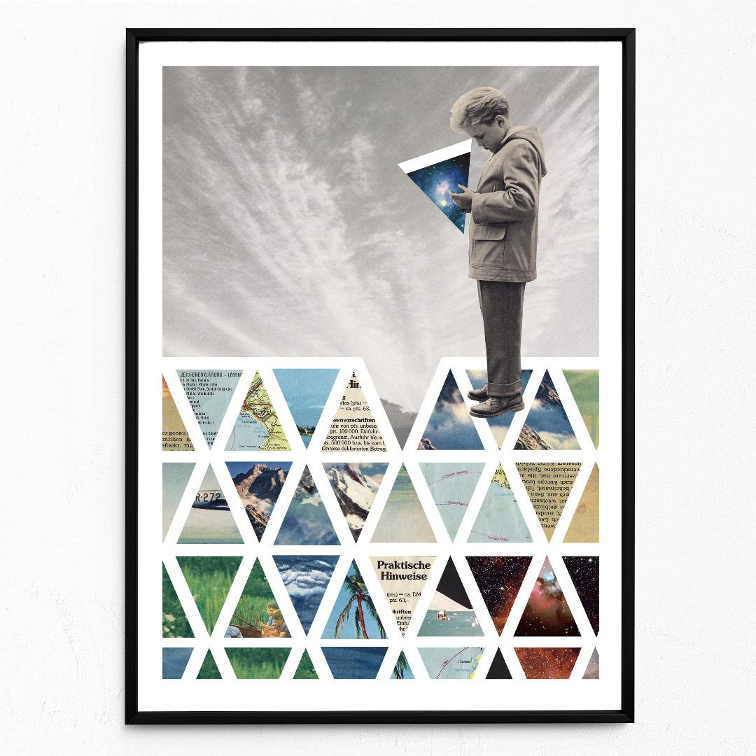 Puzzle Poster Kunstdruck DIN A3