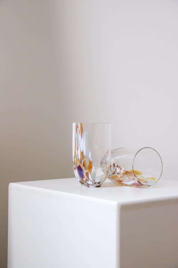 Trinkglas Marble