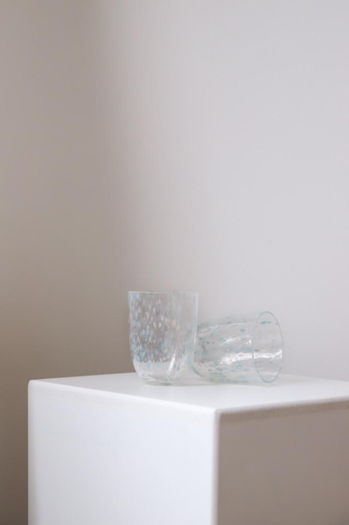 Trinkglas Confetti Ocean