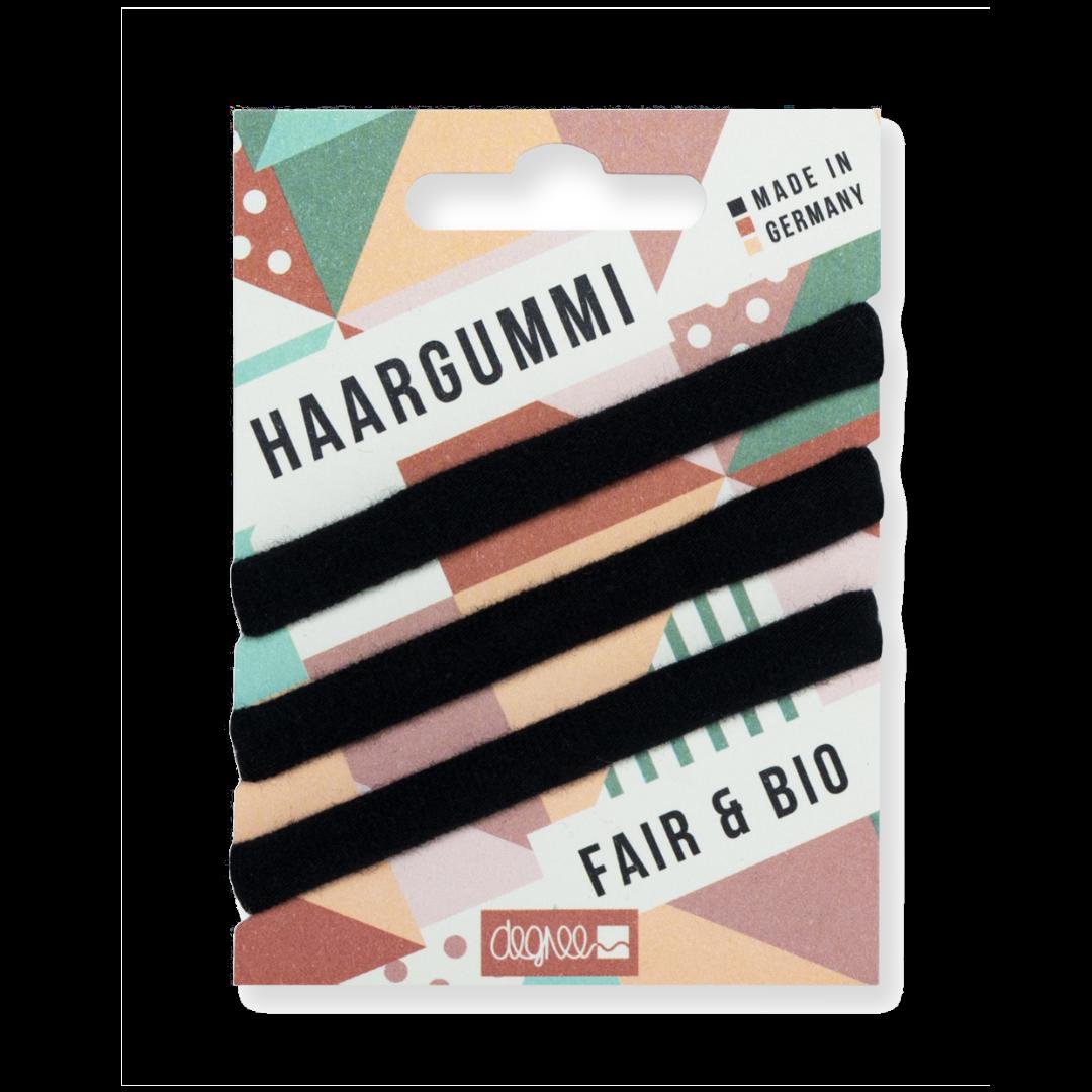 Fair Hair Haargummi schwarz