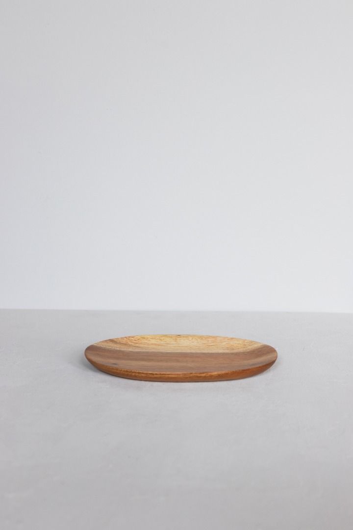 Ovaler Holzteller 2