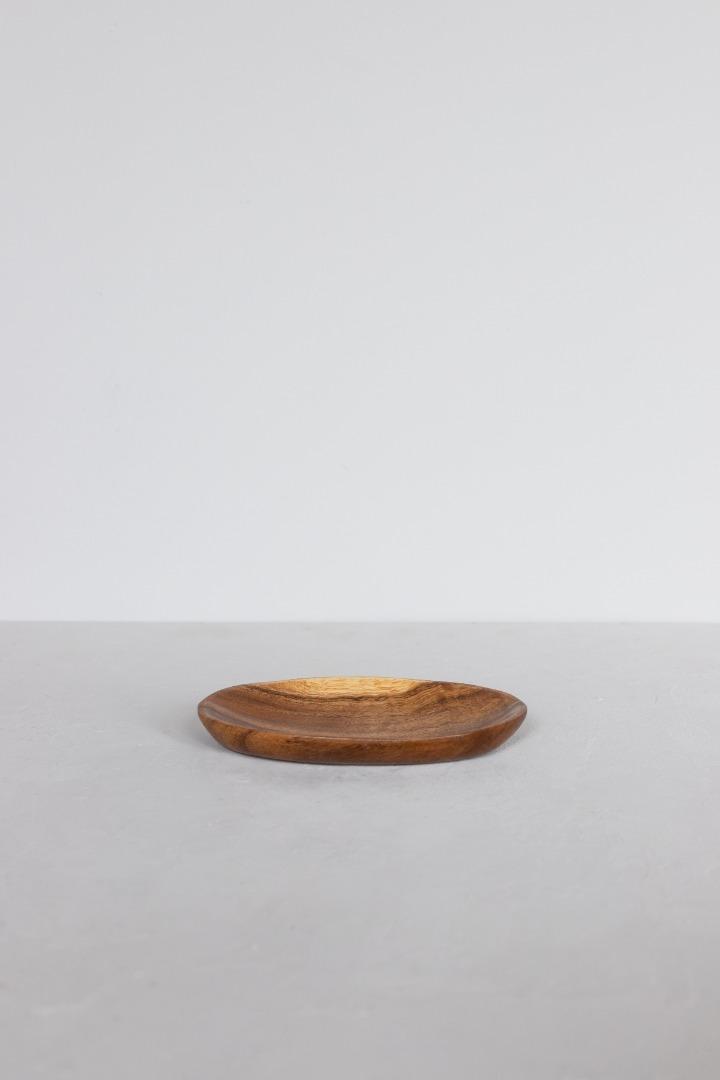 Ovaler Holzteller 3