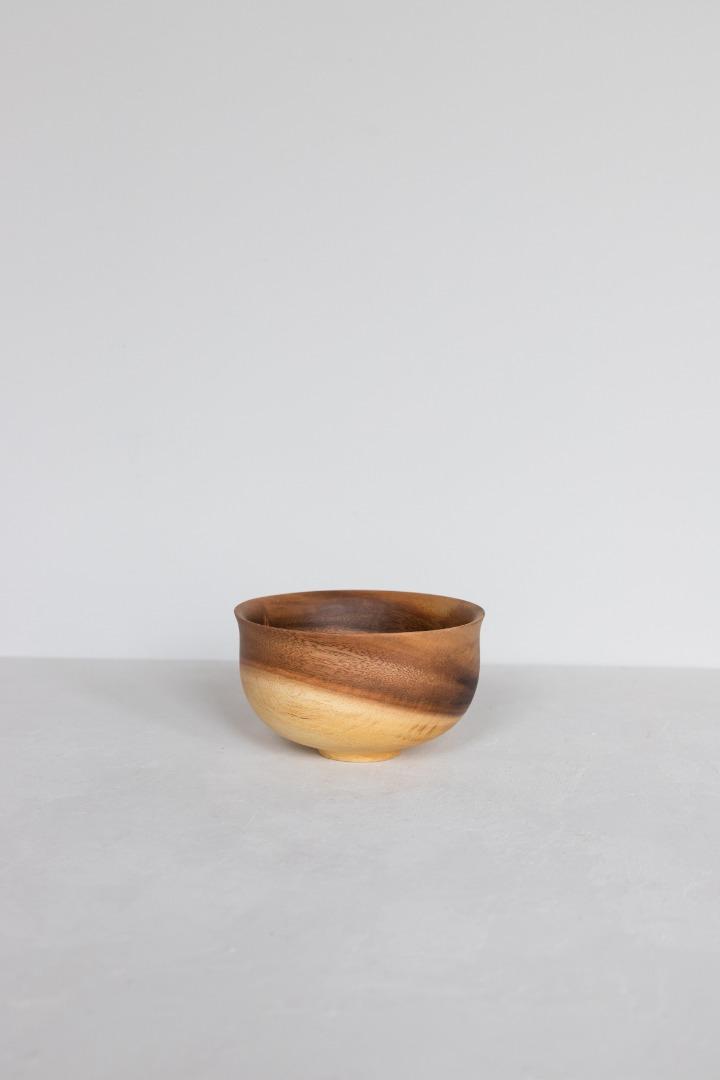 Holzschalen mit japanischem Fuß 2