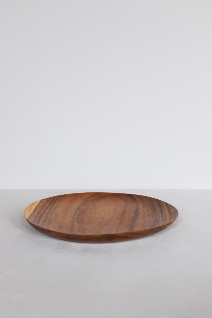 Runder Holzteller 2