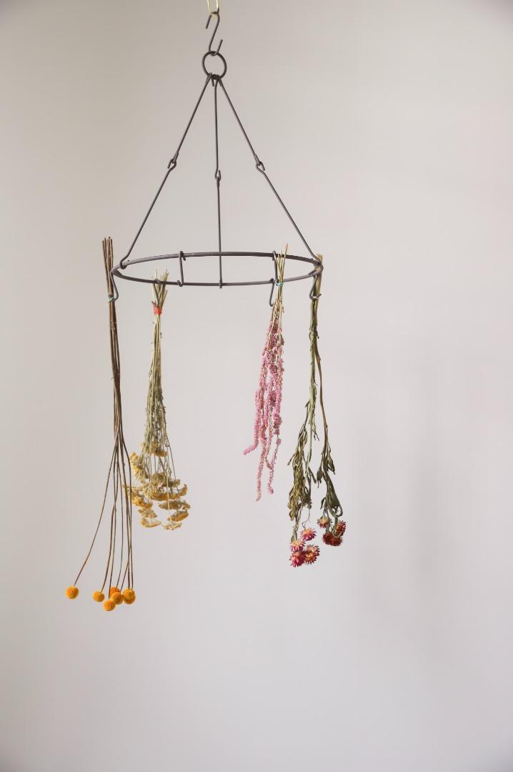 Blumen- & Kräuterhänger aus Metall