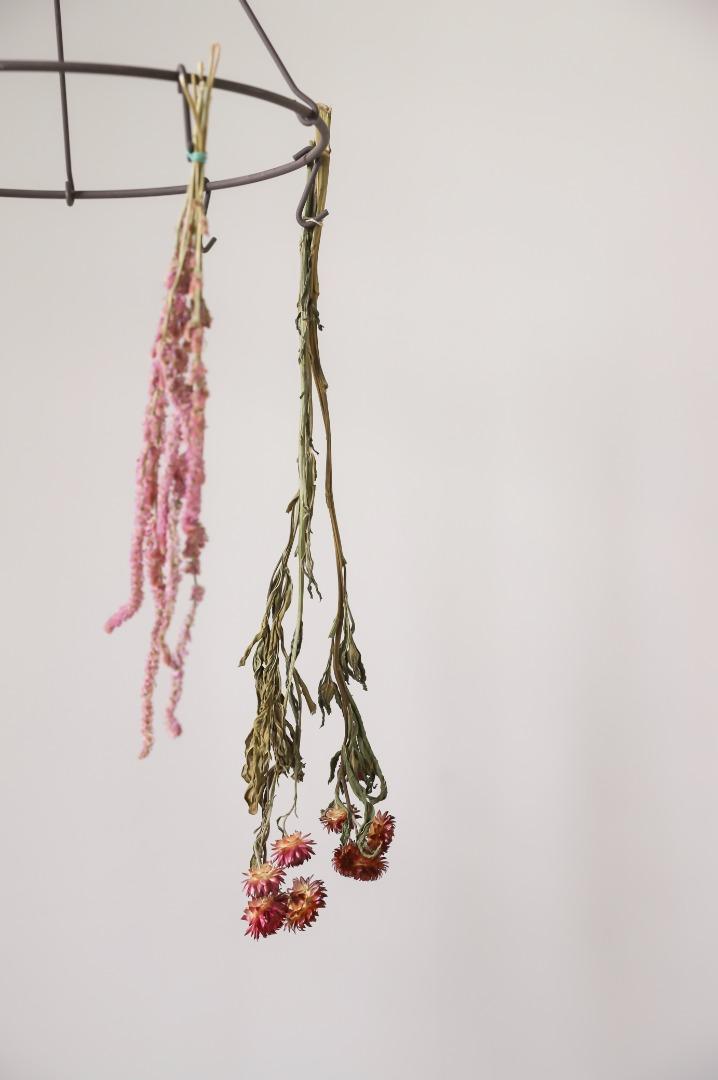 Blumen- & Kräuterhänger aus Metall 2