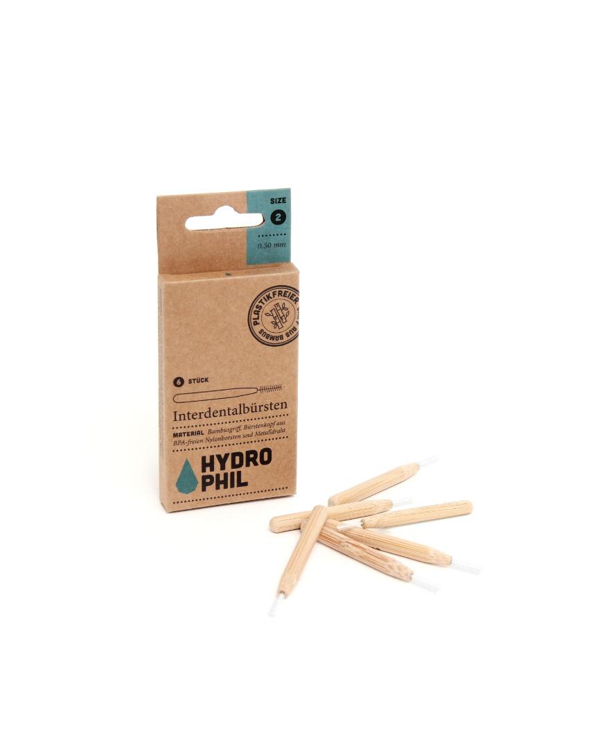 Nachhaltige Interdentalbürsten mit Bambusgriff 2